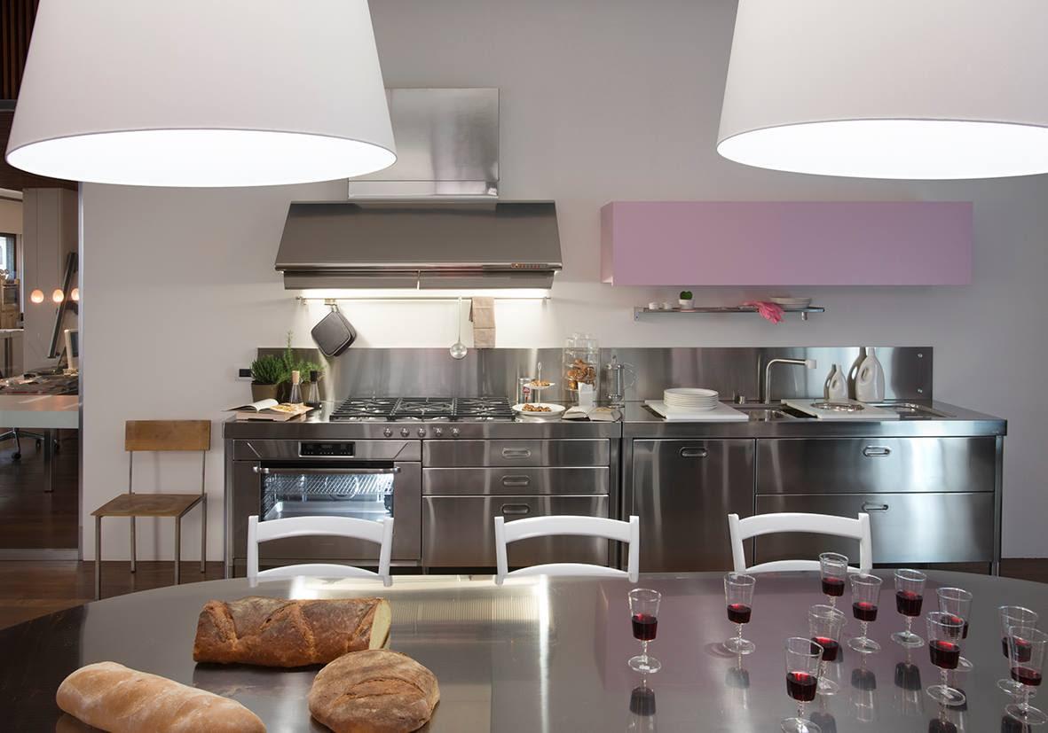 Küche Alpes Inox