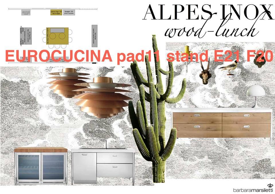 Alpes-Inox mit Holzfronten