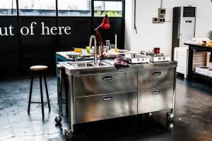 k cheninsel in edelstahl edelstahlm bel edelstahlk chen edelstahlkamine blog. Black Bedroom Furniture Sets. Home Design Ideas
