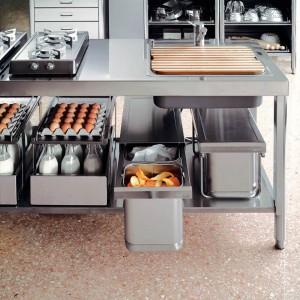 Haushaltküchen in Edelstahl so professionel wie Gastronomieküchen