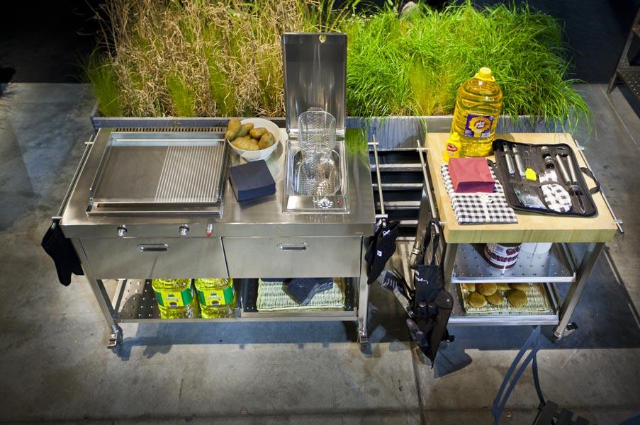 edelstahlmöbel | edelstahlküchen | edelstahlkamine ? blog | edel ... - Edelstahl Outdoor Küche