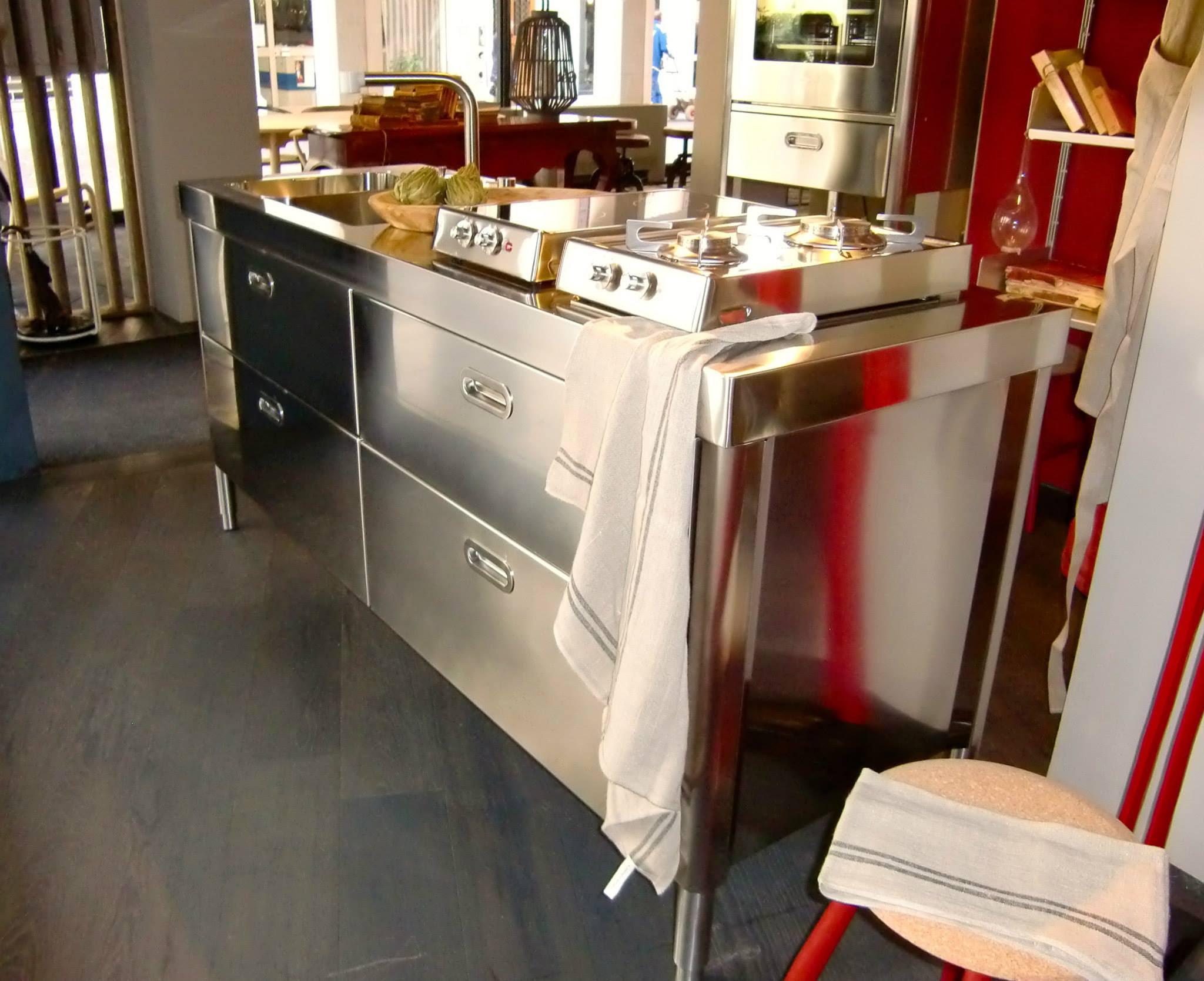 Freistehender Küchenblock