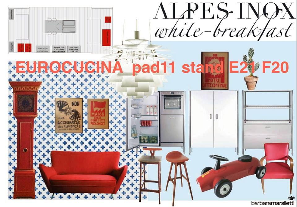 Alpes-Inox mit weißen Fronten