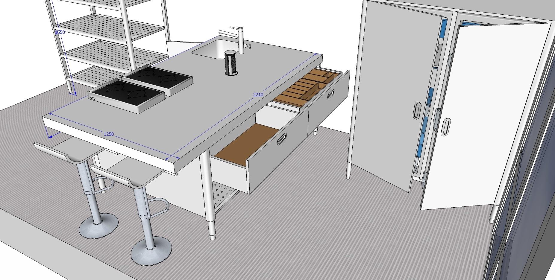 edelstahlm bel edelstahlk chen edelstahlkamine blog edel elegant extravagant. Black Bedroom Furniture Sets. Home Design Ideas